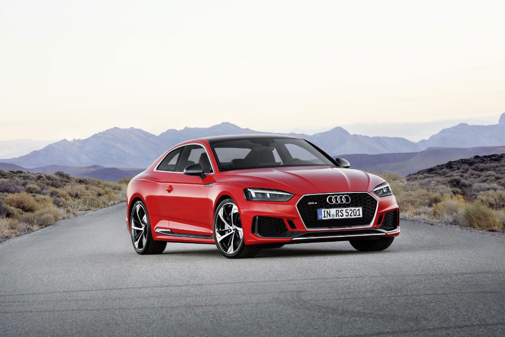 Audi RS5 Coupe Front - New Audi RS5 Coupe to Start From £62,900 - New Audi RS5 Coupe to Start From £62,900