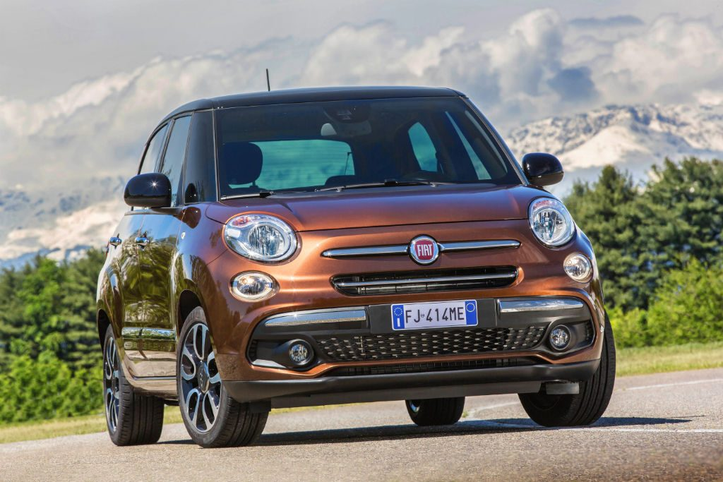 Fiat 500L 2017 Front 1024x683 - Fiat 500L Gets a Update for 2017 - Fiat 500L Gets a Update for 2017