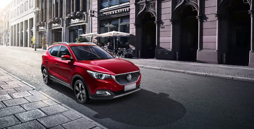 MG XS Front 1024x522 - MG XS SUV Unveils at London Motor Show - MG XS SUV Unveils at London Motor Show