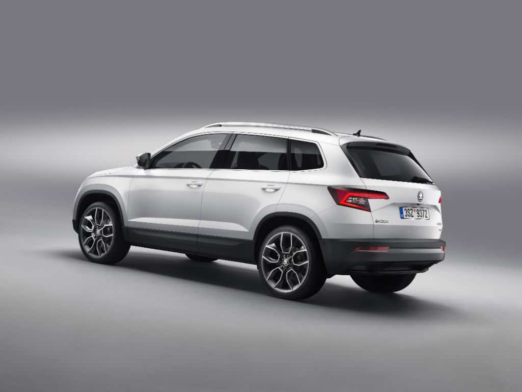 Skoda Karoq Back 1024x769 - Skoda Karoq Revealed - Skoda Karoq Revealed