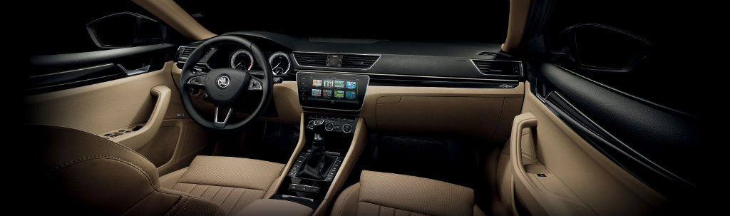 Skoda Superb May 2017 Dashboard 1024x303 - Skoda Superb Benefits From New Features - Skoda Superb Benefits From New Features
