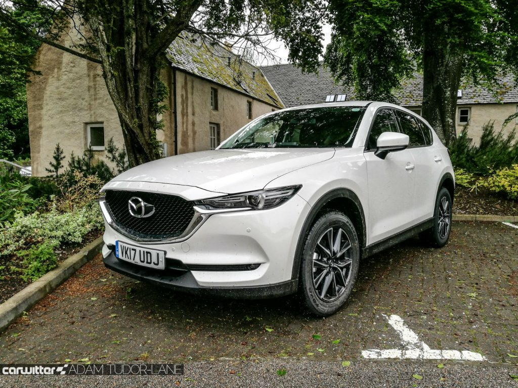 2017 Mazda CX 5 Review Front Angle White carwitter 1024x768 - 2017 Mazda CX-5 2.2 Diesel Sport Nav Review - 2017 Mazda CX-5 2.2 Diesel Sport Nav Review