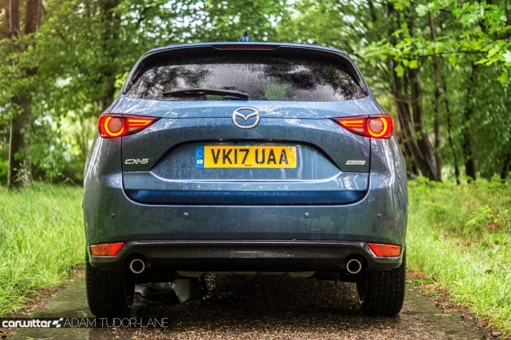 2017 Mazda CX 5 Review Rear carwitter 1024x681 - 2017 Mazda CX-5 2.2 Diesel Sport Nav Review - 2017 Mazda CX-5 2.2 Diesel Sport Nav Review