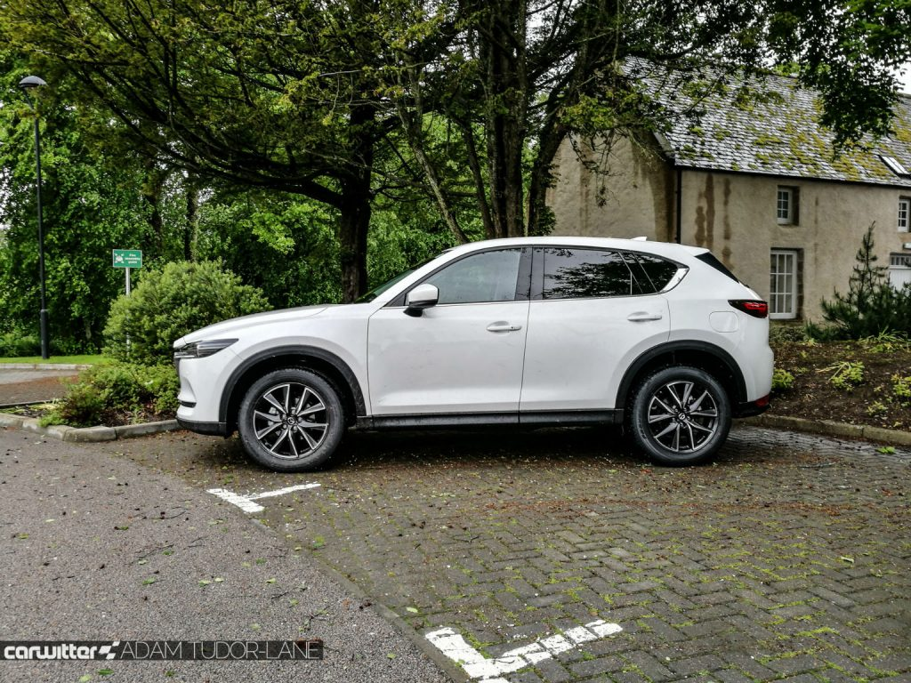 2017 Mazda CX 5 Review Side carwitter 1024x768 - 2017 Mazda CX-5 2.2 Diesel Sport Nav Review - 2017 Mazda CX-5 2.2 Diesel Sport Nav Review