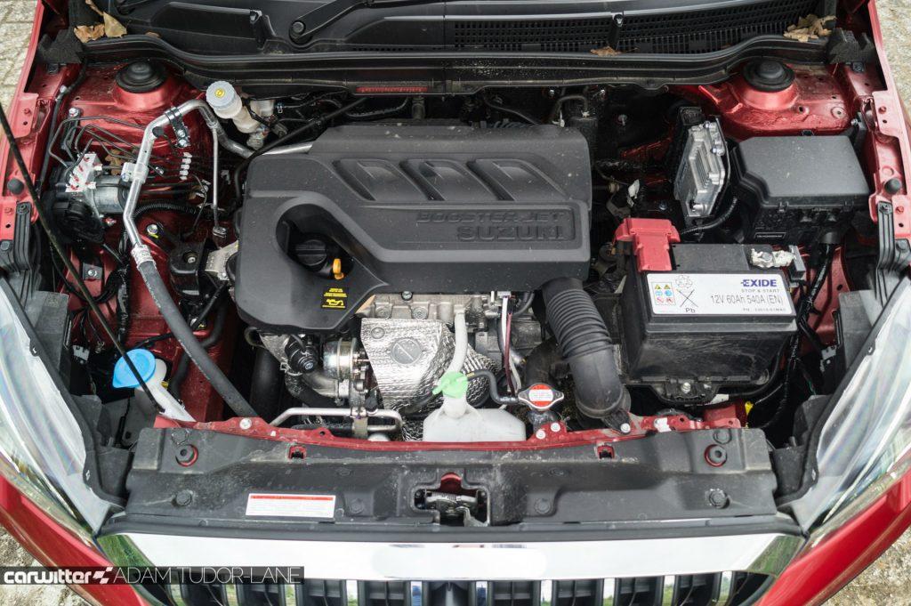 2017 Suzuki SX4 S Cross 1.0 Boosterjet Review Engine Bay carwitter 1024x681 - 2017 Suzuki SX4 S-Cross 1.0 litre Boosterjet review - 2017 Suzuki SX4 S-Cross 1.0 litre Boosterjet review