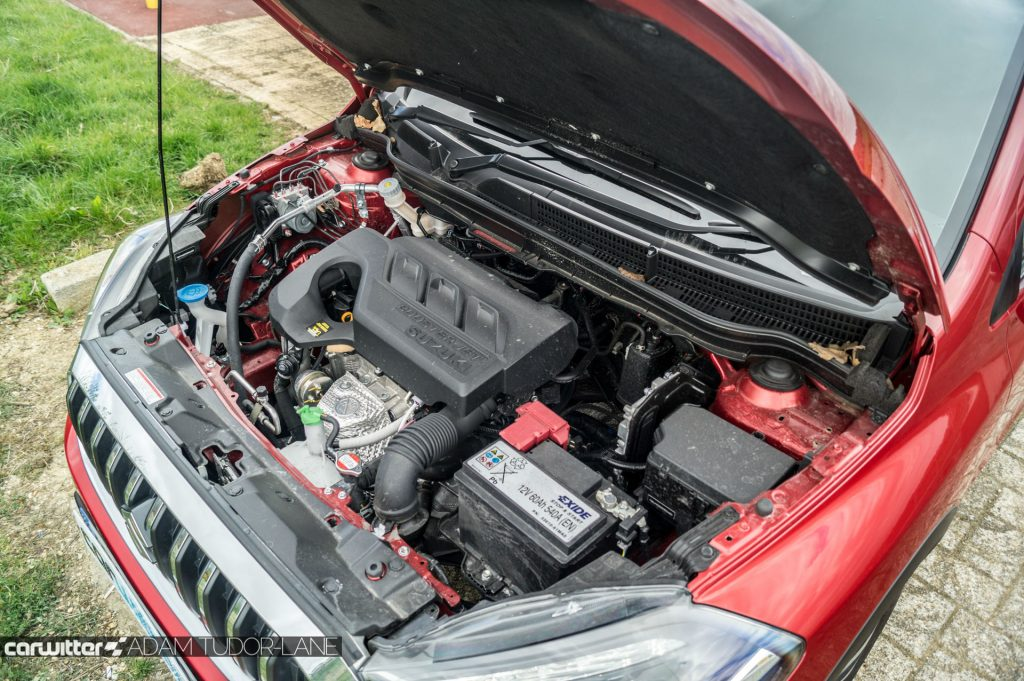 2017 Suzuki SX4 S Cross 1.0 Boosterjet Review Engine carwitter 1024x681 - 2017 Suzuki SX4 S-Cross 1.0 litre Boosterjet review - 2017 Suzuki SX4 S-Cross 1.0 litre Boosterjet review