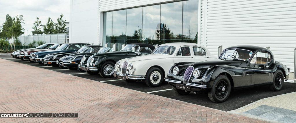 Jaguar Land Rover Classic Works Opening 2017 013 carwitter 1024x428 - Jaguar Land Rover Classic Works - Simply Incredible - Jaguar Land Rover Classic Works - Simply Incredible