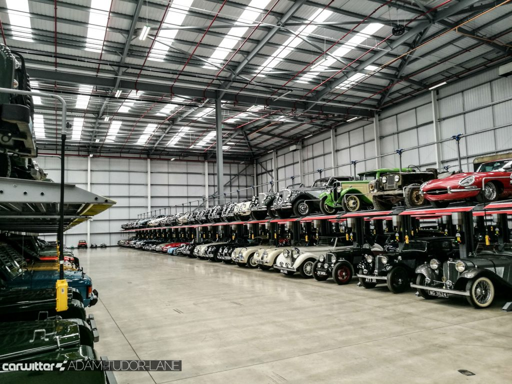 Jaguar Land Rover Classic Works Opening 2017 023 carwitter 1024x768 - Jaguar Land Rover Classic Works - Simply Incredible - Jaguar Land Rover Classic Works - Simply Incredible