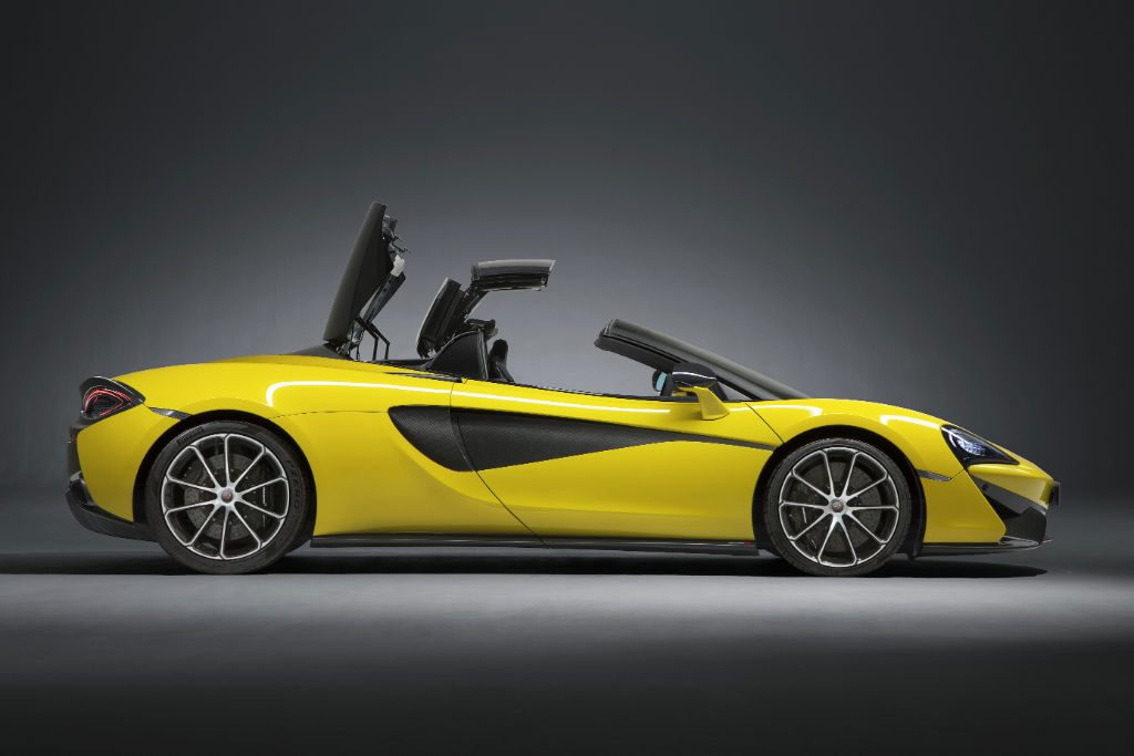 McLaren 570S Spider Side 1024x683 - McLaren 570S Spider Announced - McLaren 570S Spider Announced