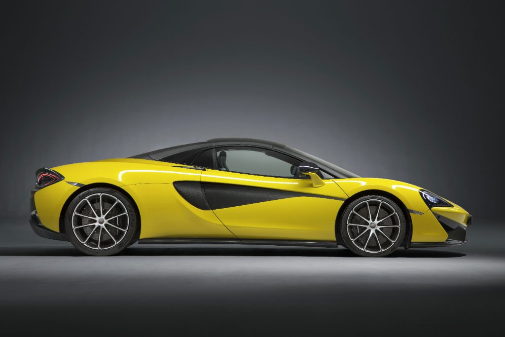 McLaren 570S Spider Side Roof 1024x683 - McLaren 570S Spider Announced - McLaren 570S Spider Announced