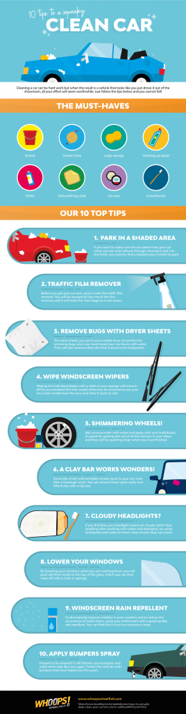 tips to keeping your car squeaky clean 268x1024 - 10 tips for a squeaky clean car - 10 tips for a squeaky clean car