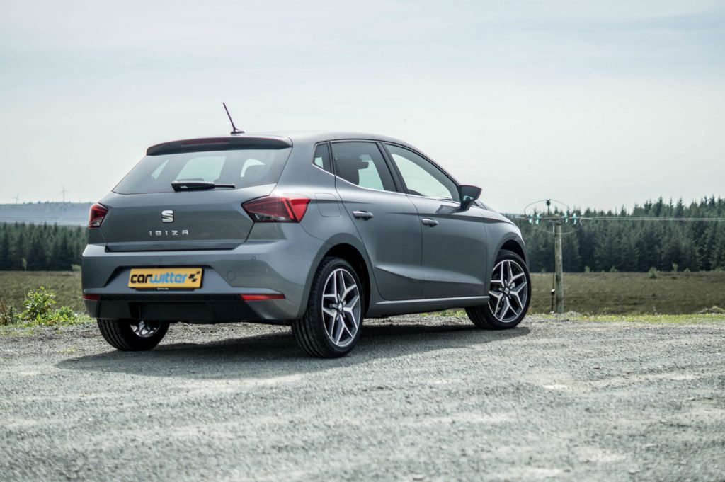 2017 SEAT Ibiza Review Rear Angle carwitter 1024x681 - 2017 SEAT Ibiza Review - 2017 SEAT Ibiza Review