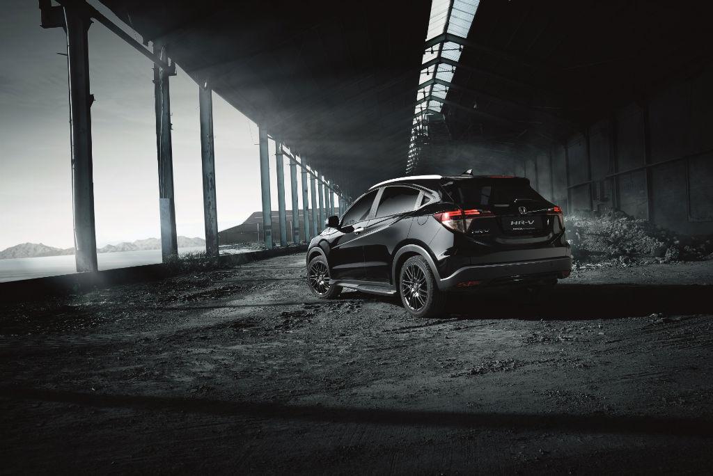Honda HR V Black Edition Back - Honda Announce HR-V Black Edition - Honda Announce HR-V Black Edition