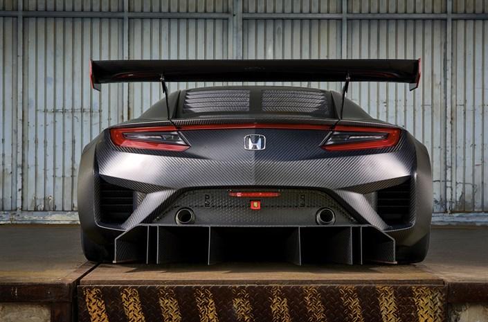 Honda NSX GT3 Back - Honda NSX GT3 to go on sale for customers - Honda NSX GT3