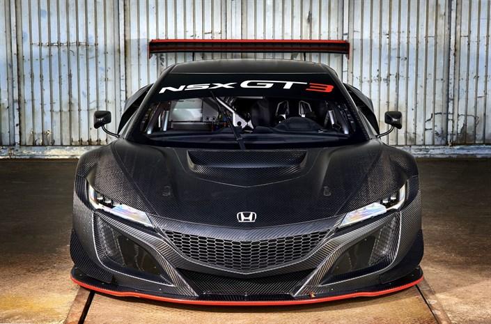 Honda NSX GT3 Front - Honda NSX GT3 to go on sale for customers - Honda NSX GT3