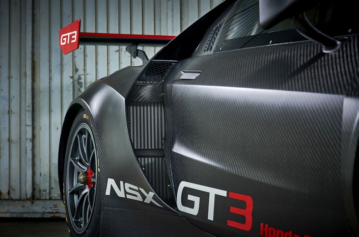 Honda NSX GT3 Side Detail - Honda NSX GT3 to go on sale for customers - Honda NSX GT3