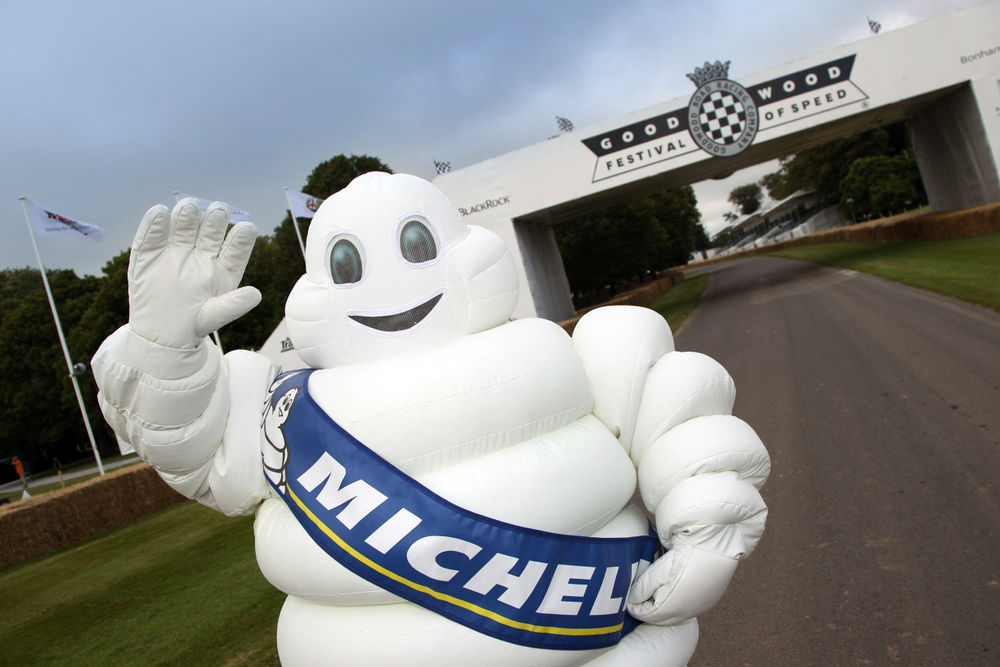 Michelin Man Goodwood Festival Of Speed carwitter - Michelin make some car connections at Goodwood FoS - Michelin make some car connections at Goodwood FoS