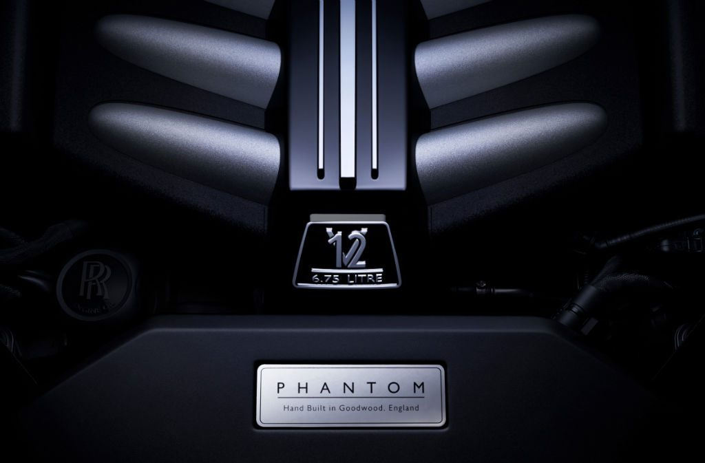 Rolls Royce 2018 Phantom Engine 1024x673 - Rolls-Royce Reveal All-New Phantom - Rolls-Royce Reveal All-New Phantom