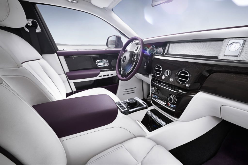 Rolls Royce 2018 Phantom Interior Front 1024x683 - Rolls-Royce Reveal All-New Phantom - Rolls-Royce Reveal All-New Phantom