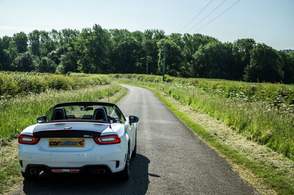 2017 Abarth 124 Spider Review Road Ahead carwitter 1024x681 - Why You Should Take A Road Trip Instead Of Flying - Why You Should Take A Road Trip Instead Of Flying