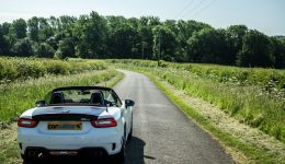 2017 Abarth 124 Spider Review Road Ahead carwitter 260x150 - Travelling around Europe this summer? Take the scenic route… - Travelling around Europe this summer? Take the scenic route…