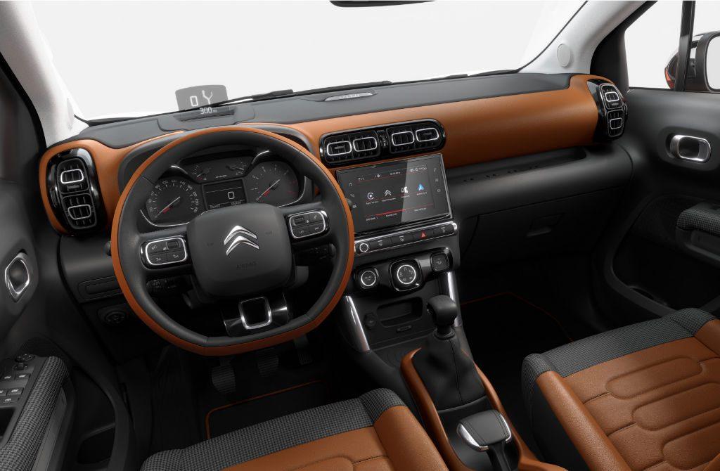 Citroen C3 Aircross Interior 1024x670 - Citroen C3 Aircross to start from £13,995 - Citroen C3 Aircross to start from £13,995