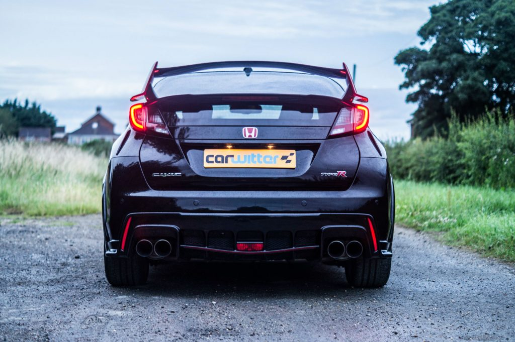 Honda Civic Type R Black Edition FK2 Back carwitter 1024x681 - Why the FK2 is THE best Honda Civic Type R EVER - Why the FK2 is THE best Honda Civic Type R EVER