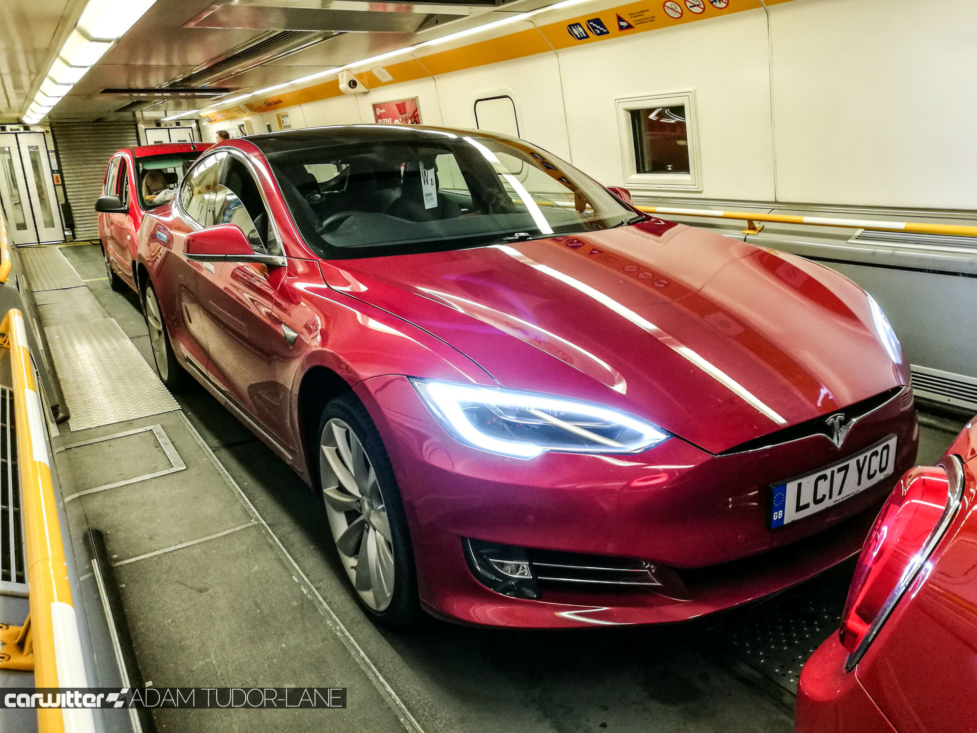 Taking Your Tesla On The Eurotunnel Read This First Carwitter