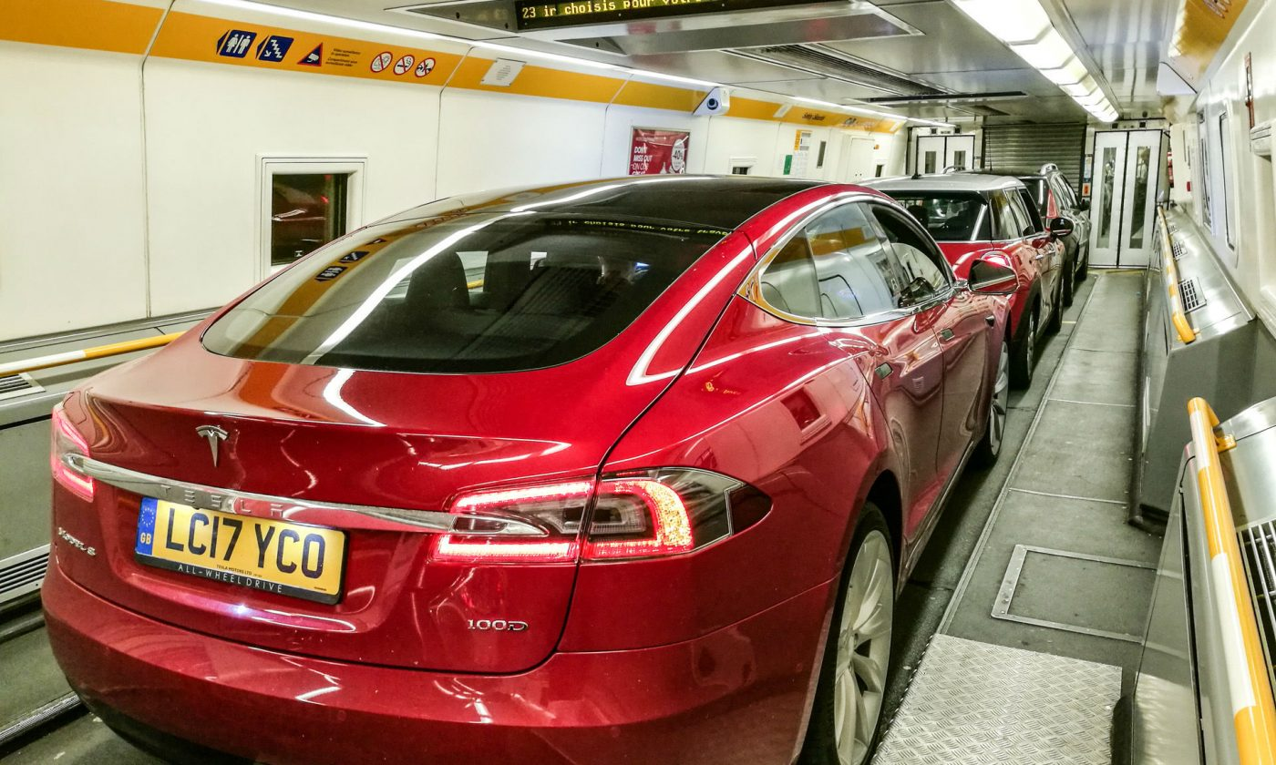 Tesla Eurotunnel 03 carwitter 1400x840 - Why You Should Take A Road Trip Instead Of Flying - Why You Should Take A Road Trip Instead Of Flying