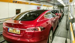 Tesla Eurotunnel 03 carwitter 260x150 - Top tips for driving outside the UK when planning your summer Euro-trip - Top tips for driving outside the UK when planning your summer Euro-trip