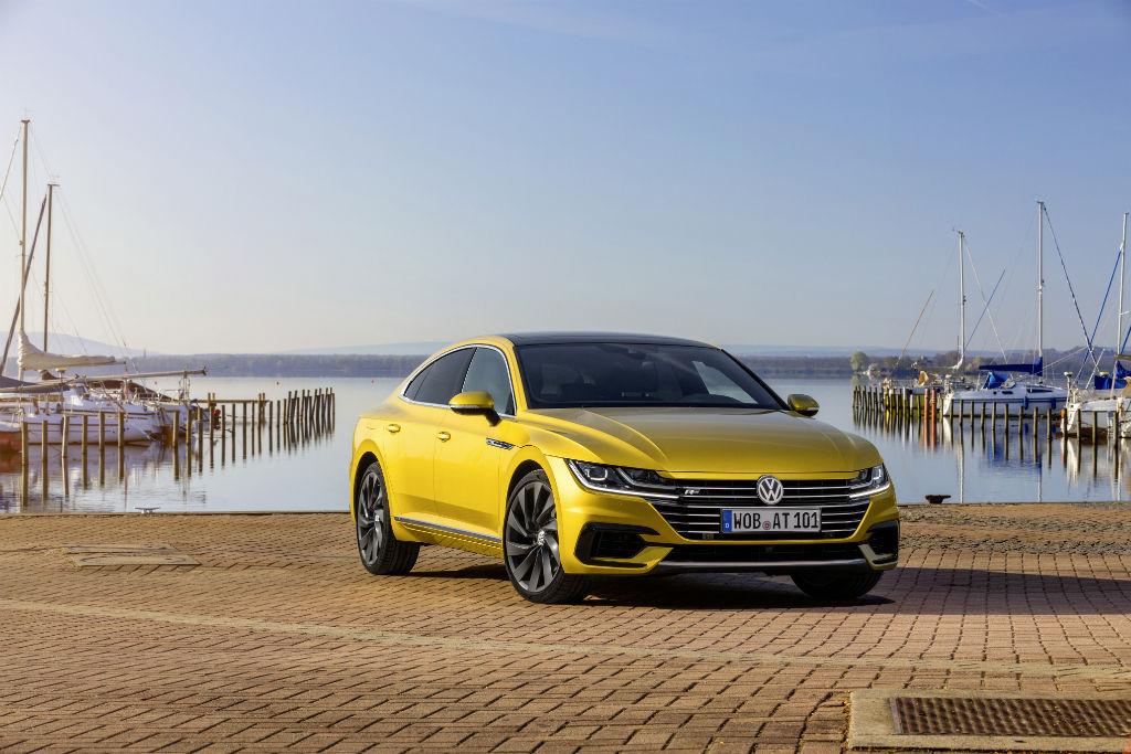 Volkswagen Arteon Front - Volkswagen Arteon Available to Order - Volkswagen Arteon Available to Order