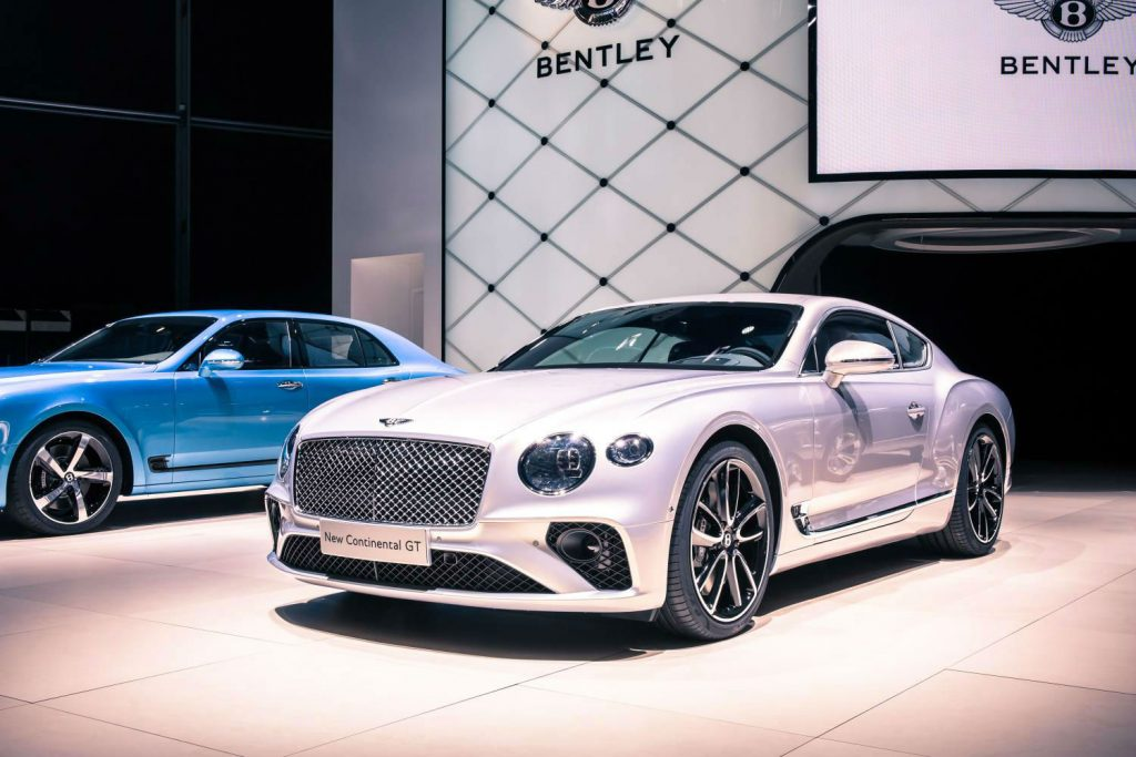 2017 Bentley Continental GT Front White carwitter 1024x683 - Top 10 Cars Footballers Own – What do The Best Players Like to Drive? - Top 10 Cars Footballers Own – What do The Best Players Like to Drive?