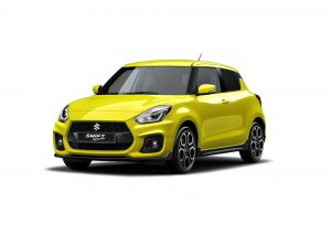 2017 Suzuki Swift Sport Front Yellow carwitter 300x212 - Superlight Swift Sport is on the way - Superlight Swift Sport is on the way
