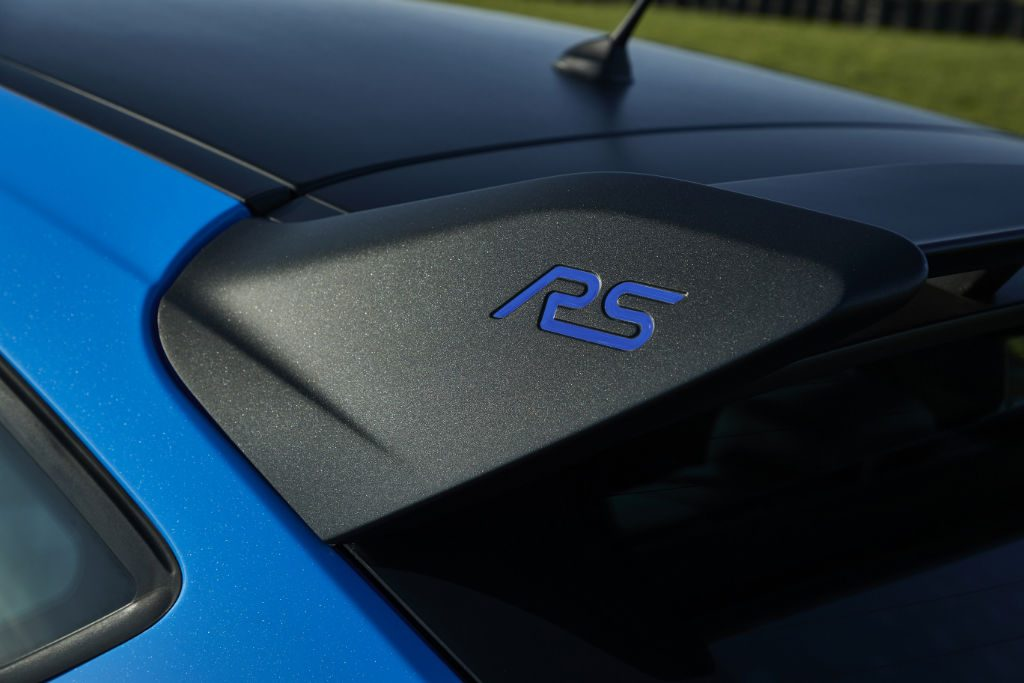 Ford Focus RS Edition Spoiler Detail 1024x683 - Ford Add Focus RS Edition - Ford Add Focus RS Edition