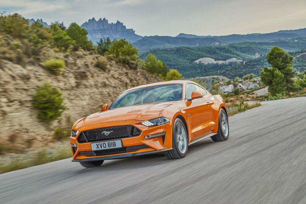 Ford Mustang 2018 Front 1024x683 - Ford Reveal New 2018 Facelift Mustang - Ford Reveal New 2018 Facelift Mustang