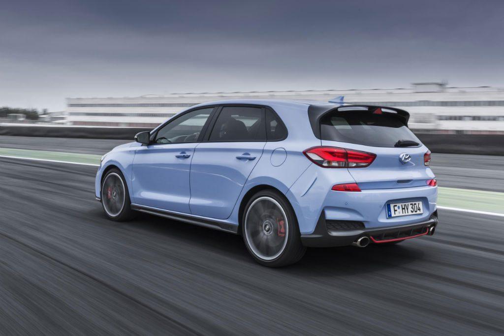 Hyundai i30 N Back 1024x683 - Hyundai i30 N to Start from £24,995 - Hyundai i30 N to Start from £24,995