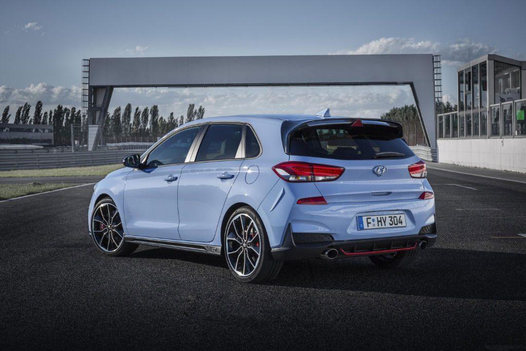 Hyundai i30 N Back 2 1024x683 - Hyundai i30 N to Start from £24,995 - Hyundai i30 N to Start from £24,995