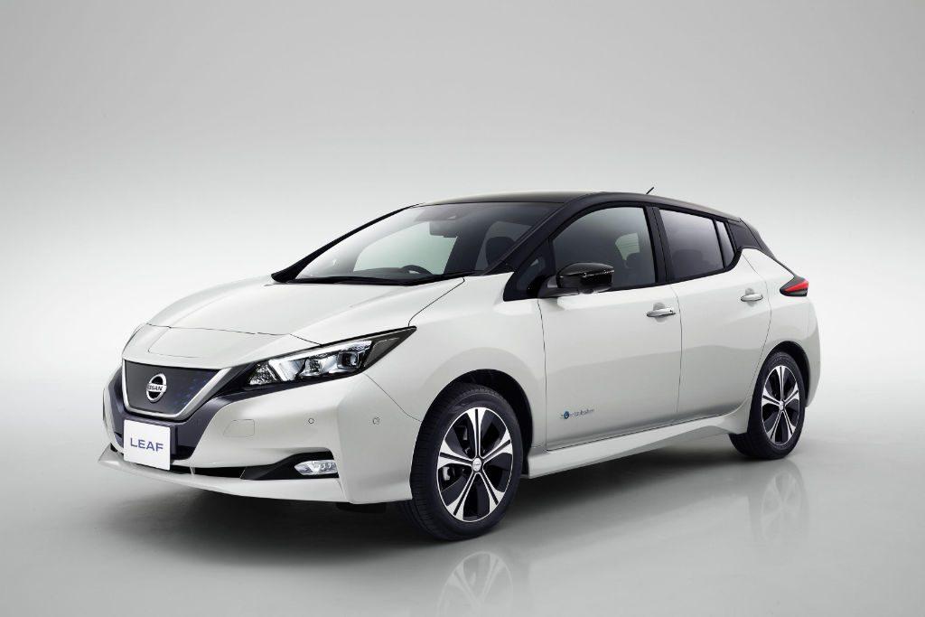 Nissan Leaf 2018 Front 2 1024x683 - New Nissan Leaf Unveiled - New Nissan Leaf Unveiled