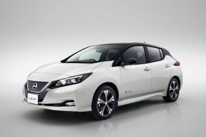 Nissan Leaf 2018 Front 2 300x200 - New Nissan Leaf Unveiled - New Nissan Leaf Unveiled