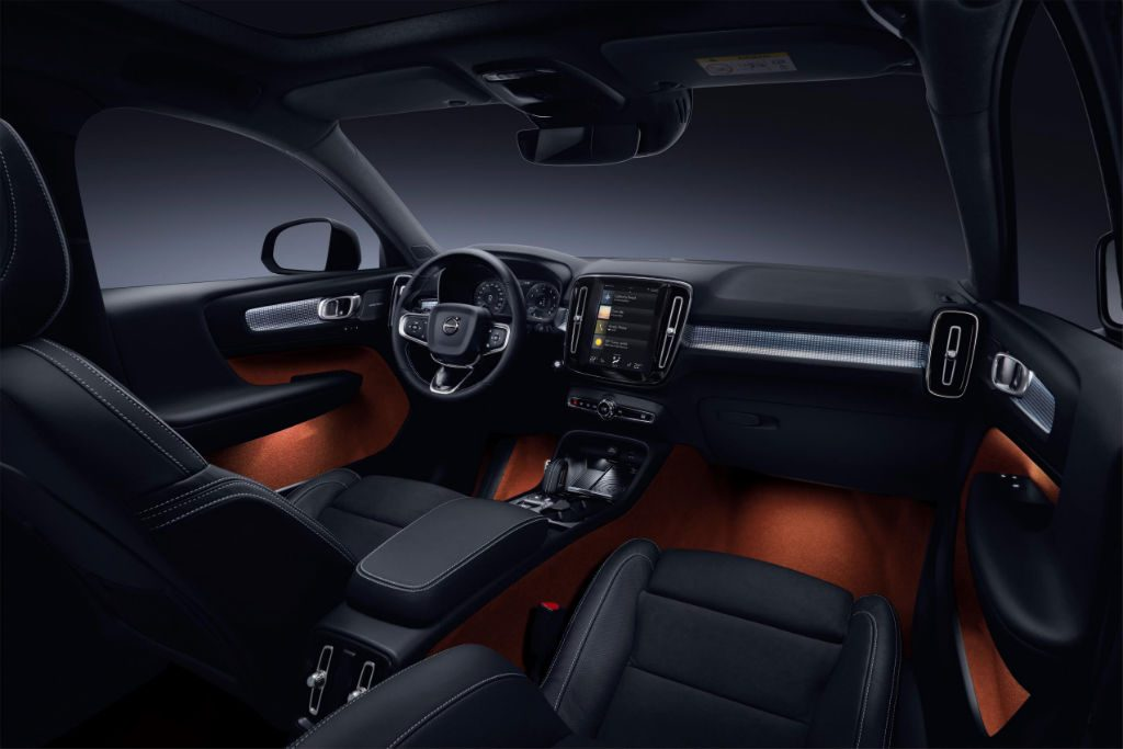 Volvo XC40 Interior 1024x683 - Volvo Reveal Pricing and Specs for new XC40 - Volvo Reveal Pricing and Specs for new XC40