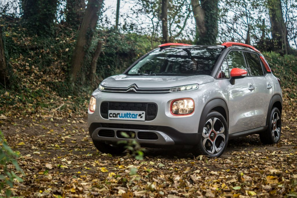 2017 Citroen C3 Aircross SUV Review Front Angle carwitter 1024x681 - Citroen C3 Aircross Review - Citroen C3 Aircross Review