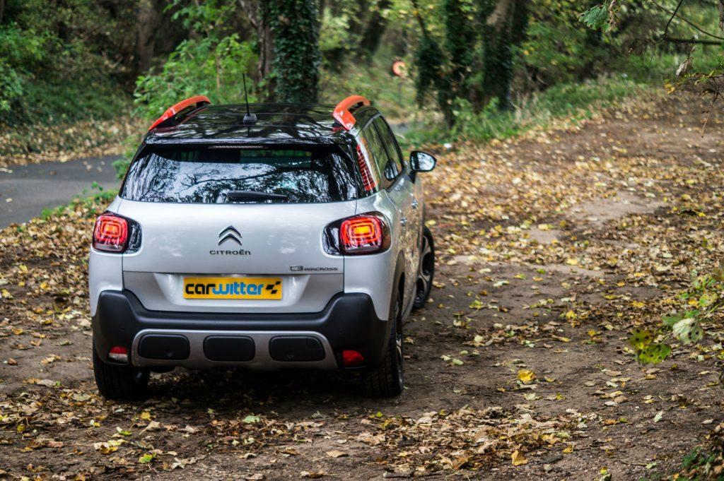 2017 Citroen C3 Aircross SUV Review Rear Scene carwitter 1024x681 - Citroen C3 Aircross Review - Citroen C3 Aircross Review
