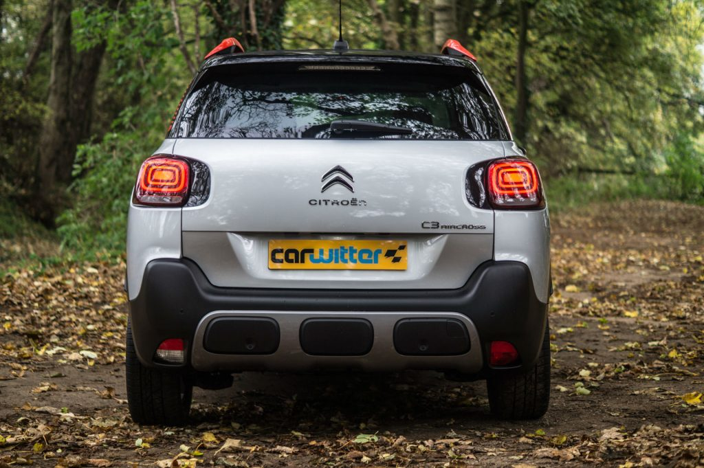 2017 Citroen C3 Aircross SUV Review Rear carwitter 1024x681 - Citroen C3 Aircross Review - Citroen C3 Aircross Review