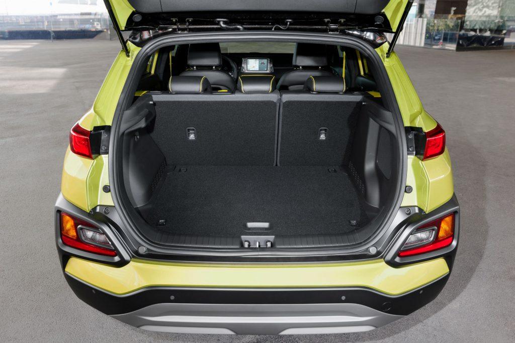 2017 Hyundai Kona SUV Review Boot carwitter 1024x683 - Hyundai Kona Review - Hyundai Kona Review