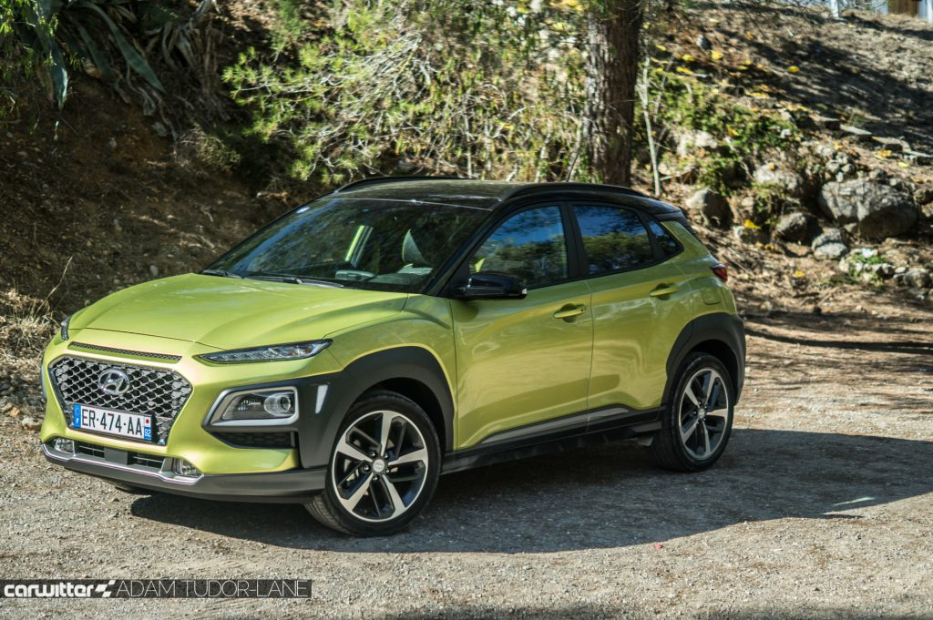 2017 Hyundai Kona SUV Review Front Angle carwitter 1024x681 - Hyundai Kona Review - Hyundai Kona Review