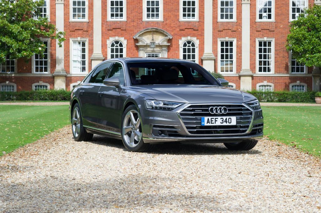2018 Audi A8 Front 1024x681 - Comfortable family cars to take on your summer drive - Comfortable family cars to take on your summer drive