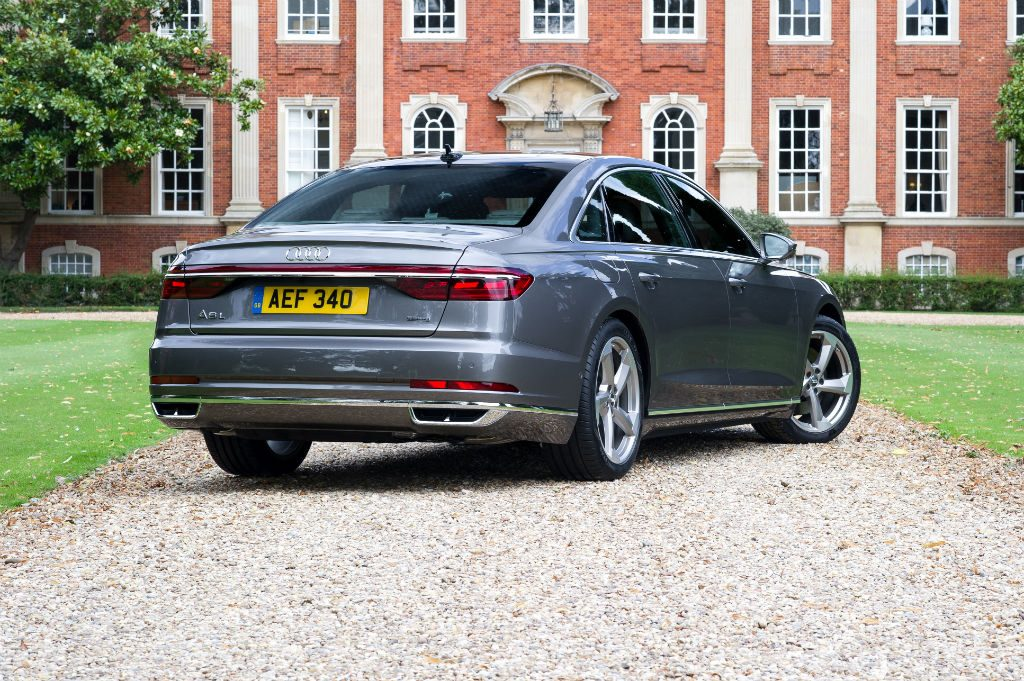 2018 Audi A8 Rear 1024x681 - Details Released for 2018 Audi A8 - Details Released for 2018 Audi A8