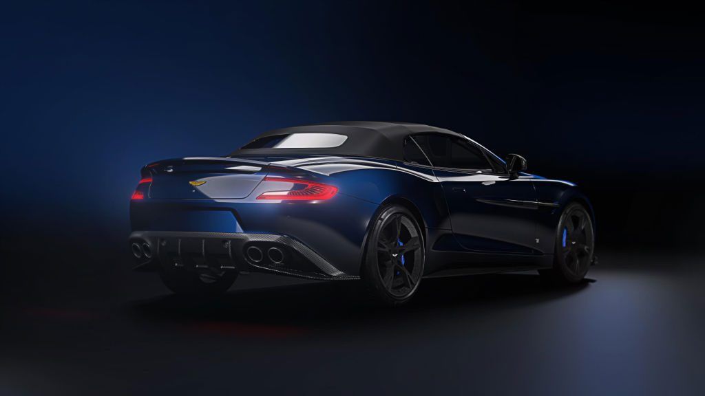 Aston Martin Vanquish S Tom Brady Signature Edition Back 1024x576 - Aston Martin to make 12 VanquishSVolante TomBradySignatureEditions - Aston Martin to make 12 VanquishSVolante TomBradySignatureEditions