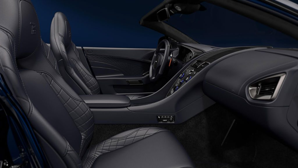 Aston Martin Vanquish S Tom Brady Signature Edition Interior 1024x576 - Aston Martin to make 12 VanquishSVolante TomBradySignatureEditions - Aston Martin to make 12 VanquishSVolante TomBradySignatureEditions