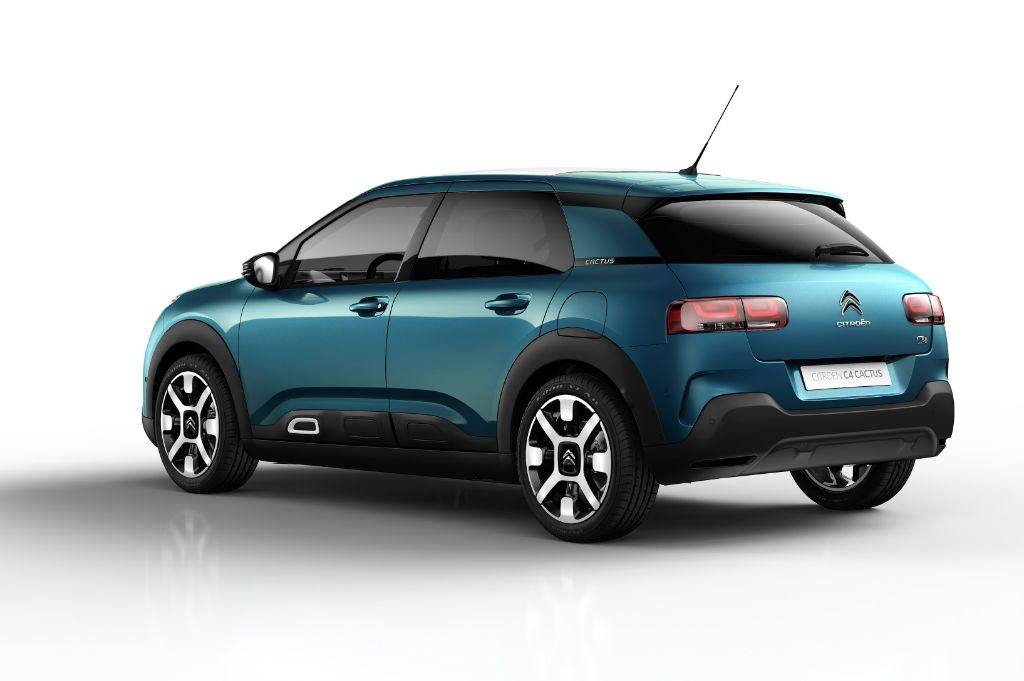 Citroen C4 Cactus 2018 Back 1024x681 - Citroen C4 Cactus gets a facelift - Citroen C4 Cactus gets a facelift